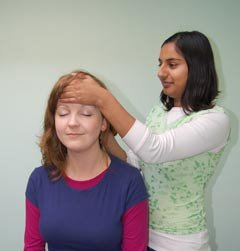 Indian Head Massage